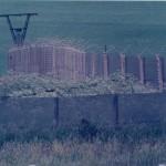 Schutzstreifenzaun an der Grenze zur DDR (Mai 1982)