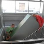 """In WR mussten die Schränke durch ein enges Treppenhaus """"geschleppt"""" werden!"""