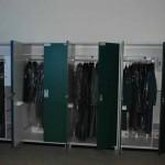 Die Uniformen hängen schon wieder in den Schränken.